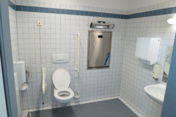 salle de bain pour mobilité réduite