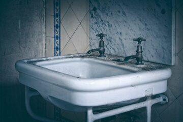 fuite d'eau lavabo